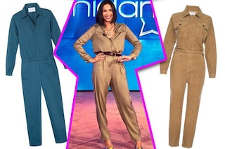 La tuta di Caterina Balivo è il capo trendy dell'autunno 2019: come indossarla e quale scegliere