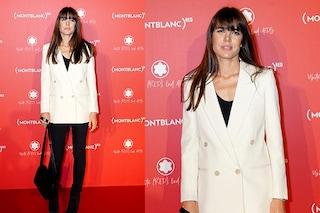 Charlotte Casiraghi (con la frangia) lancia il trend del blazer doppiopetto per l'autunno 2019
