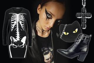 Halloween 2019: come creare un perfetto dark look con abiti e accessori neri