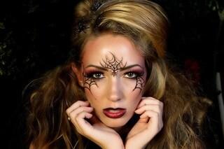 Trucco di Halloween: come realizzare il make up ragnatela in pochi passaggi