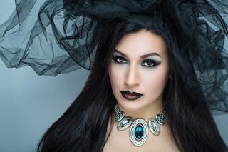 Trucco da strega per Halloween: il make up completo semplice ma d'effetto