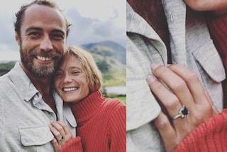 James Middleton e Alizee Thevenet sono fidanzati, il prezioso anello somiglia a quello di Kate
