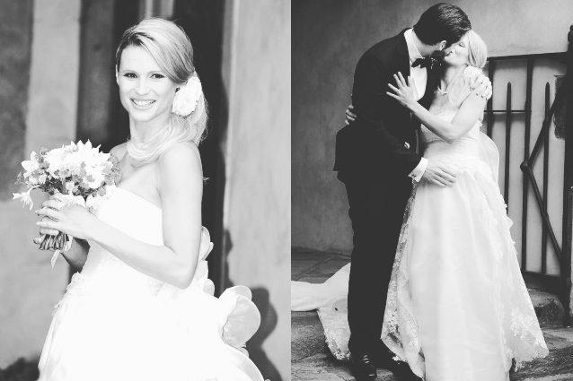 Michelle Hunziker festeggia l' anniversario di nozze