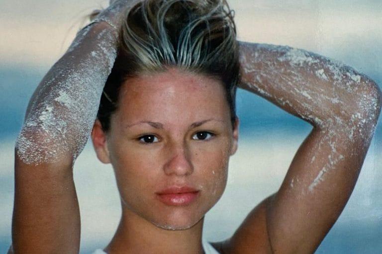 Michelle Hunziker senza sopracciglia, da giovane seguiva ...