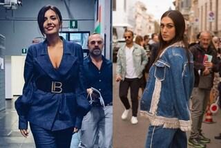 Il total denim è il trend dell'autunno 2019: tutte in jeans, da Serena Rossi alle Rodriguez