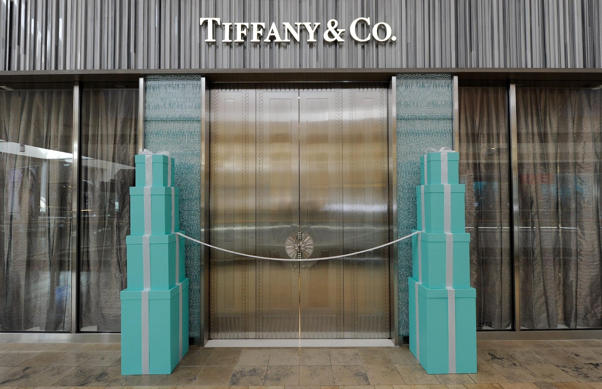 La celebre boutique Tiffany&Co.