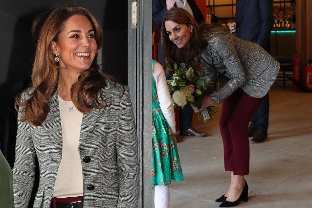Kate Middleton passa allo stile casual: indossa i pantaloni