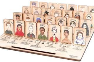 """La nuova versione al femminile di """"Indovina Chi"""", nel gioco arrivano le donne che hanno fatto storia"""
