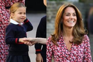 La principessa Charlotte viene presa di mira, Kate Middleton furiosa la difende così