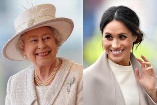 La regina Elisabetta e Meghan Markle non hanno make-up artist, preferiscono truccarsi da sole