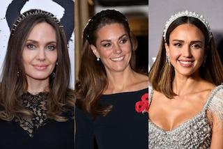 La cerchietto mania spopola tra le star: il frontino è l'accessorio più trendy dell'autunno 2019