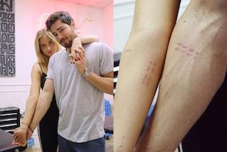 Valentina Ferragni, il significato del nuovo tatuaggio di coppia con il fidanzato Luca Vezil