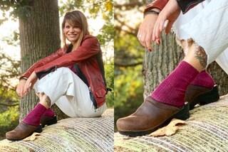 Alessandra Amoroso con gli zoccoli: è il suo l'accessorio più originale dell'autunno 2019