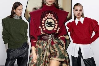 Maglioni di moda per l'inverno 2020: quest'anno si portano i pullover con le ali
