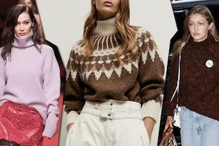 Tendenze moda per l'inverno 2020: quest'anno i maglioni si portano così (dentro pantaloni e gonne)