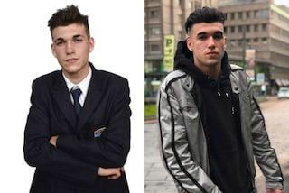 Matias Caviglia, dalla divisa ai look da rapper: come è cambiato lo studente de Il Collegio 3