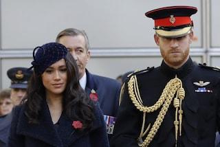 Harry e Meghan non passeranno il Natale con la Royal Family, preferiscono andare in America