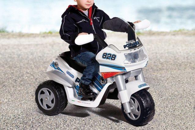 Motocicletta elettrica per bambini 6V modello ducati moto da corsa bambino suoni