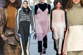 Tendenze Autunno/Inverno 2019-20: quest'anno la gonna si indossa sopra i pantaloni
