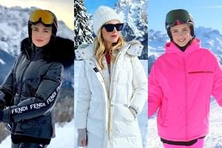 Chiara Ferragni in vacanza sulla neve, il suo guardaroba invernale vale più di 16mila euro