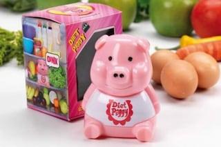 """Arriva """"Diet Piggy"""", la soluzione per ricordarsi della dieta"""
