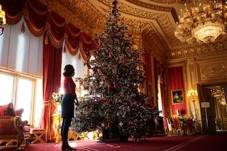 La Royal Family si prepara al Natale, l'albero addobbato a corte è ispirato alla regina Vittoria