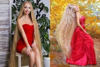 Ha i capelli che superano i 180 cm, Alena è la Rapunzel in carne e ossa