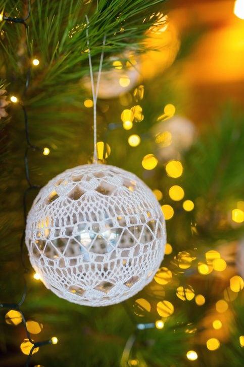Eccezionale Palline di Natale all'uncinetto: come realizzarle per addobbare l GN33