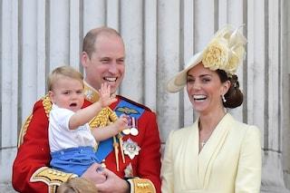 Il principe Louis ha cominciato a parlare, mamma Kate rivela qual è la parola che ripete sempre
