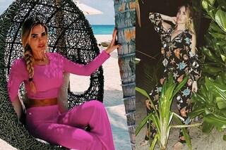 Ilary Blasi in vacanza alle Maldive: completi fluo e tutine floreali nel resort di lusso