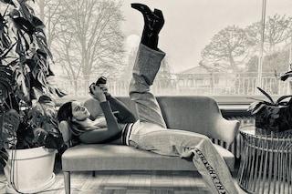 Stella Bossari in versione cowboy: gli stivali texani sono i più trendy dell'inverno 2020