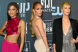 Critics' Choice Awards 2020, J.Lo con la schiena nuda, Zendaya in fucsia: sfida sexy sul red carpet