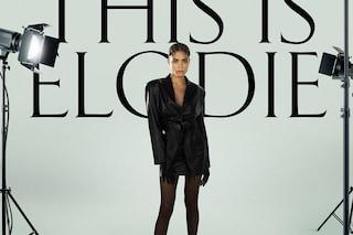 Elodie, la copertina del nuovo album è rock: look in pelle nera con gli anfibi