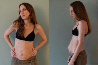 Maria, la mamma di 3 gemelli fiera della pancetta post-parto: oggi è protagonista di un programma tv