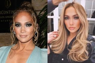 Jennifer Lopez cambia look, i suoi capelli sono sempre più biondi
