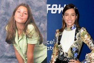 Jessica Biel da giovane in versione modella: anche da adolescente era sempre bellissima