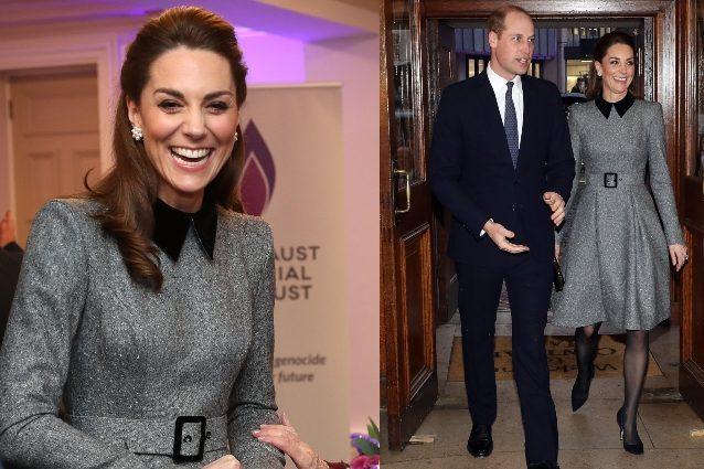 Kate Middleton, tacchi a spillo e cappotto bon ton: è il