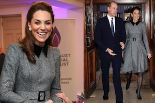 Kate Middleton, tacchi a spillo e cappotto bon-ton: è il primo look riciclato del 2020