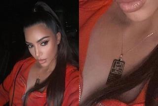 Kim Kardashian, la nuova collana griffata nasconde un messaggio romantico