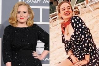 Adele avrebbe perso 30 chili per il bene del figlio: vuole essere una mamma sana