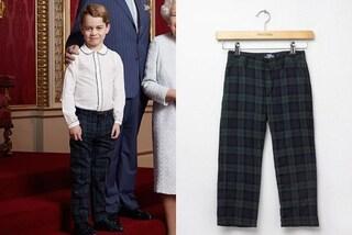 Principe George icona di stile, i pantaloni tartan per la prima foto del 2020 vanno in sold-out