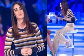Silvia Toffanin, ritorno a Verissimo in versione casual: il maglione nasconde un dettaglio sexy