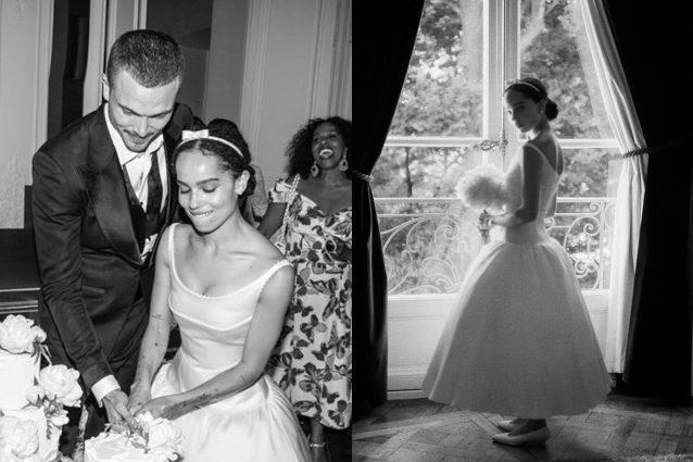 Abito Da Sposa 3 Mesi Prima.Zoe Kravitz Rivela L Abito Da Sposa A 5 Mesi Dalle Nozze