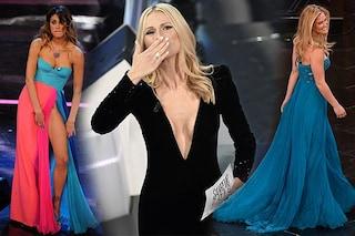 Festival di Sanremo:  i 10 abiti più belli di sempre, da Michelle Hunziker a Belén Rodriguez
