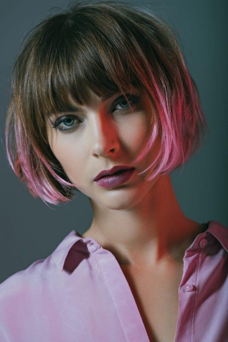 Tendenze capelli 2020: le punte rosa sono la novità da provare