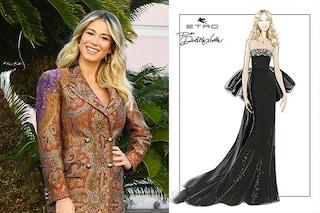 A Sanremo 2020 Diletta Leotta indosserà abiti Etro: il look della prima serata del Festival