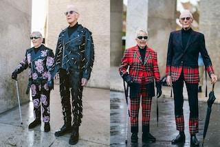 A più di 80 anni diventano modelli: la coppia di nonni fashion spopola sui social