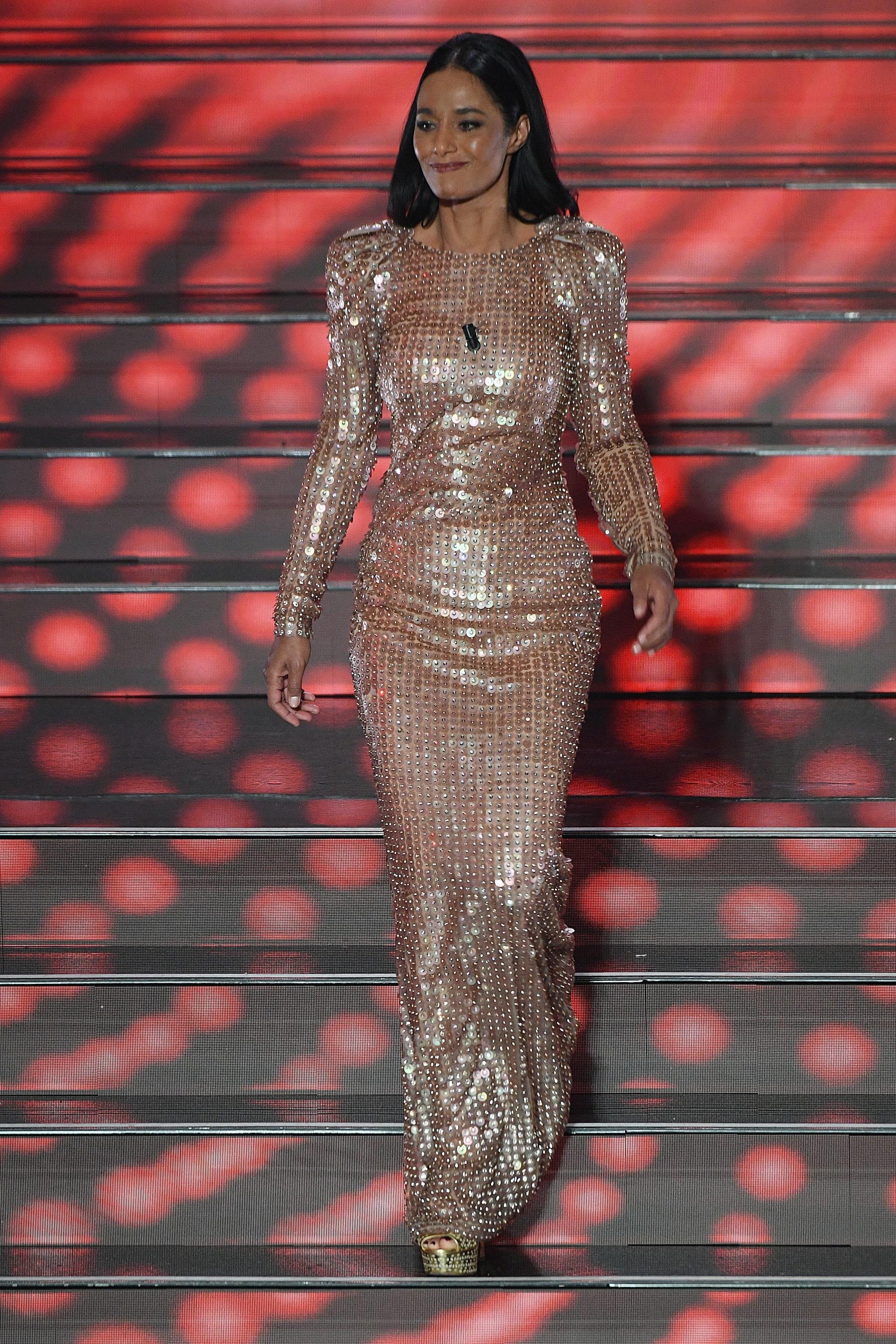 Il secondo look di Rula Jebreal a Sanremo 2020