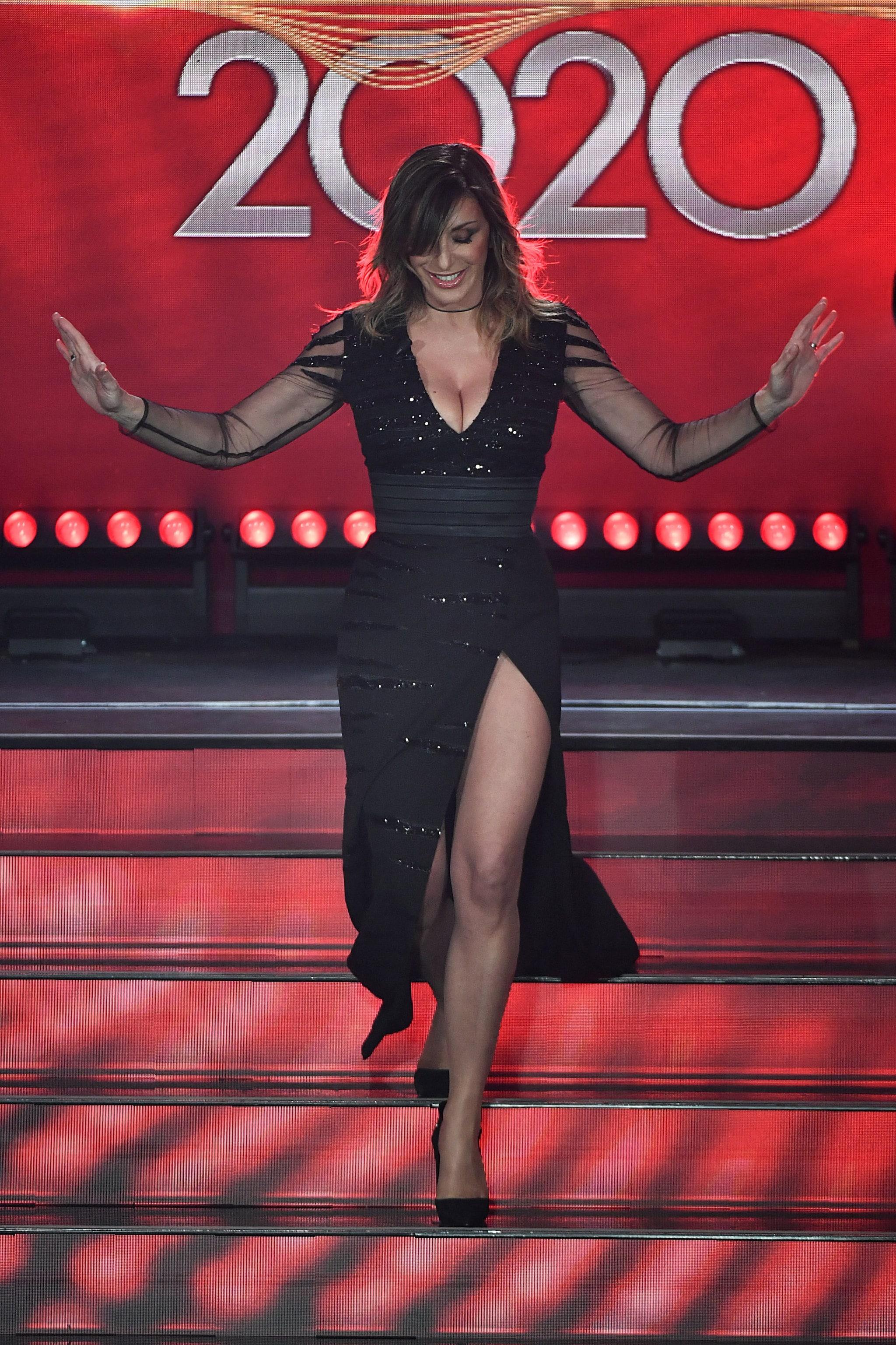 Sabrina Salerno nella seconda serata di Sanremo 2020