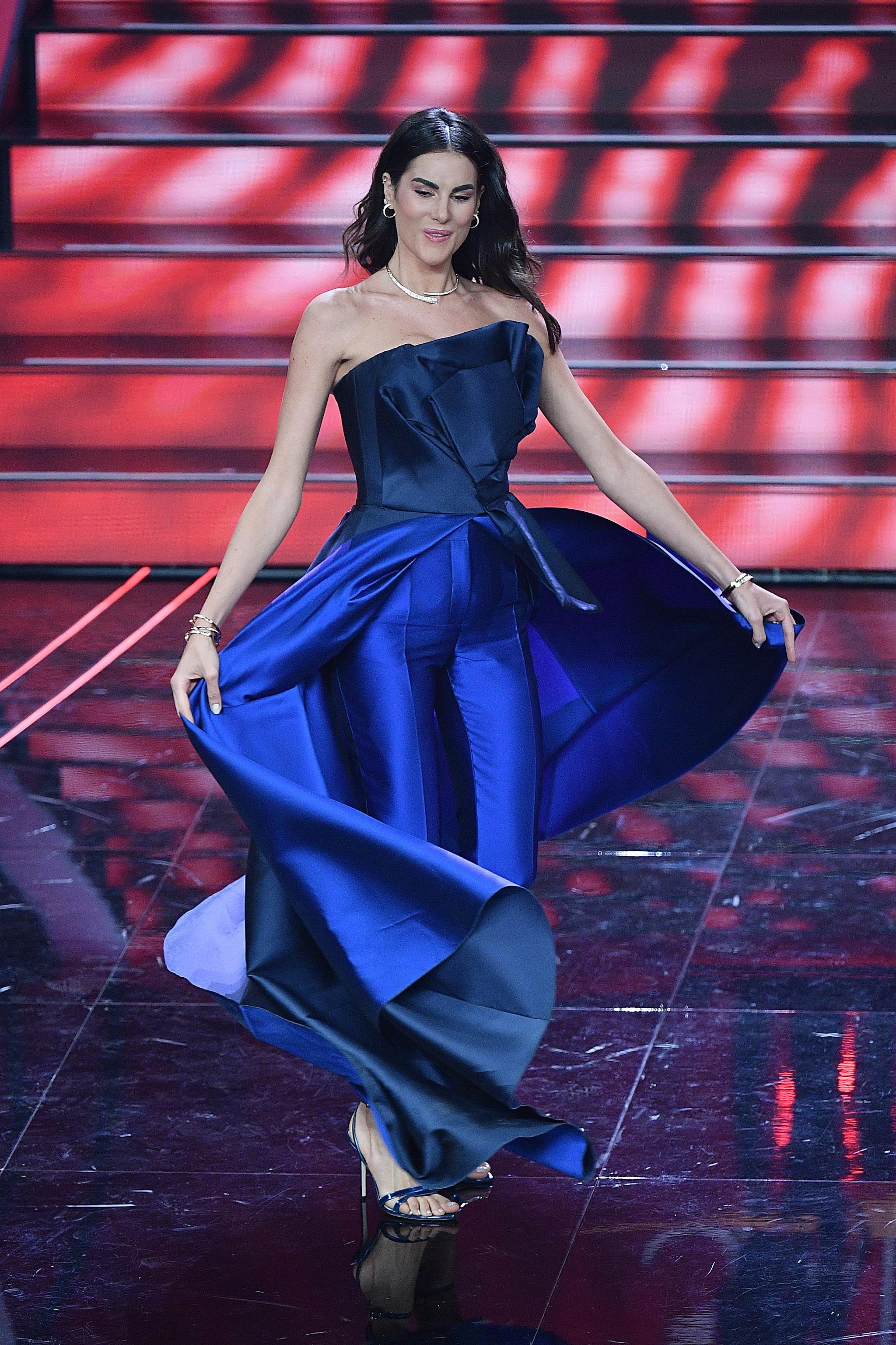 Il secondo look di Francesca Sofia Novello a Sanremo 2020